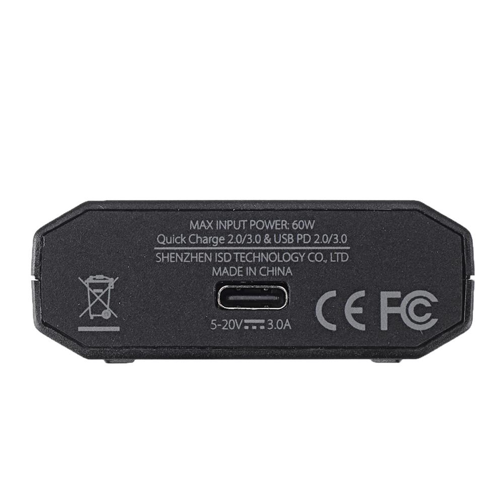 battery-charger ISDT & URUAV PD60 60W 6A Battery Balance Charger with US Power Supply & Type C Adapter Cable HOB1715559 3
