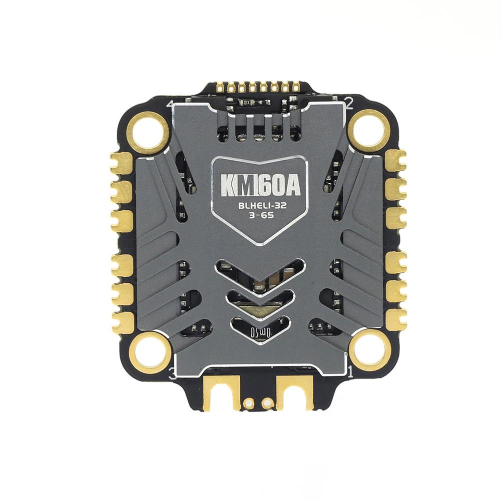 multi-rotor-parts 30.5x30.5mm Skystars Kramam KM60A 60A BLHeli_32 3-6S 4in1 Brushless ESC Support Telemetry & DShot1200 for RC Drone FPV Racing HOB1716099 2