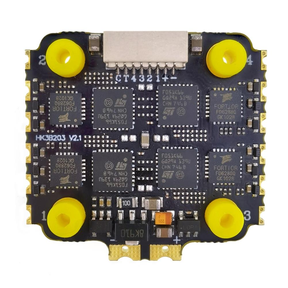 multi-rotor-parts HAKRC 40A Blheli_32 2-6S 4 in 1 UBEC Brushless ESC 20*20mm Support Dshot1200 for RC Drone FPV Racing HOB1716717 1