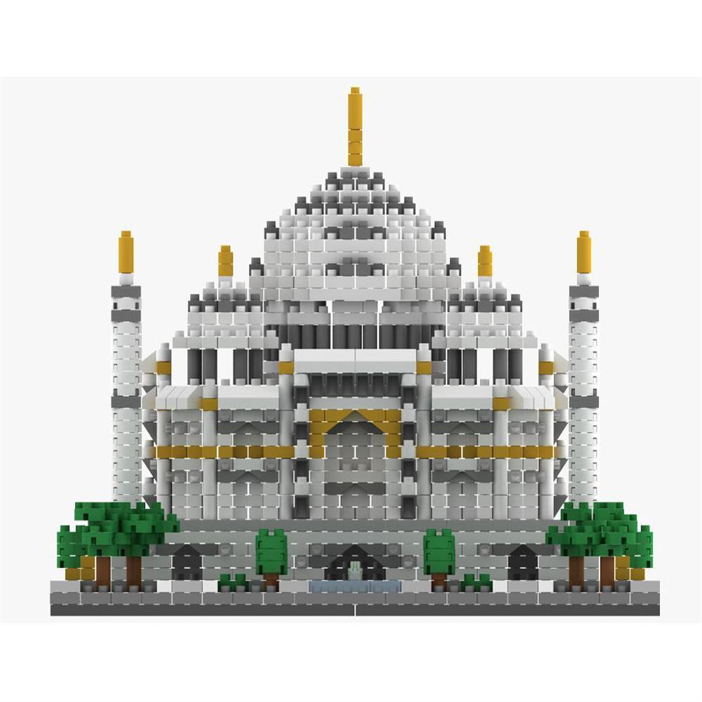 puzzle-game-toys WLtoys YZ068 2169pcs india Taj Mahal Puzzle Assembled Building Blocks indoor Toys HOB1717655