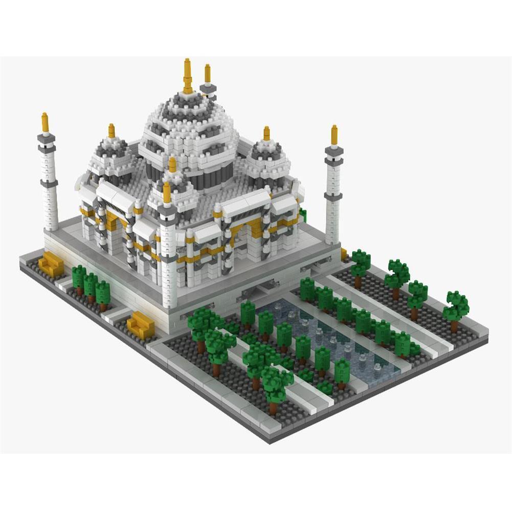puzzle-game-toys WLtoys YZ068 2169pcs india Taj Mahal Puzzle Assembled Building Blocks indoor Toys HOB1717655 1