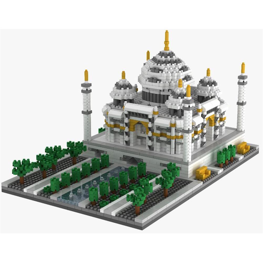puzzle-game-toys WLtoys YZ068 2169pcs india Taj Mahal Puzzle Assembled Building Blocks indoor Toys HOB1717655 2