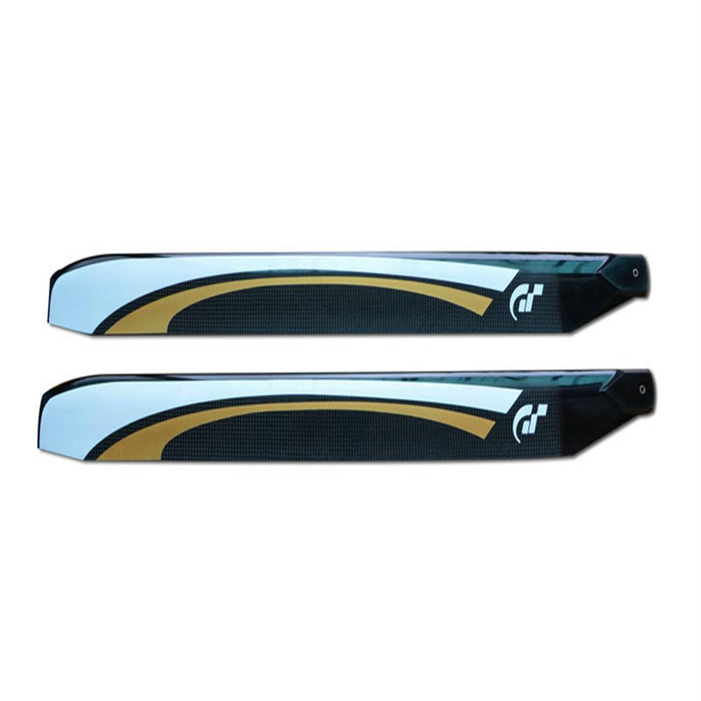 rc-helicopter-parts 1 Pair FUNFLY 610mm Carbon Fiber Main Blade for RC Helicopter HOB1717741 3