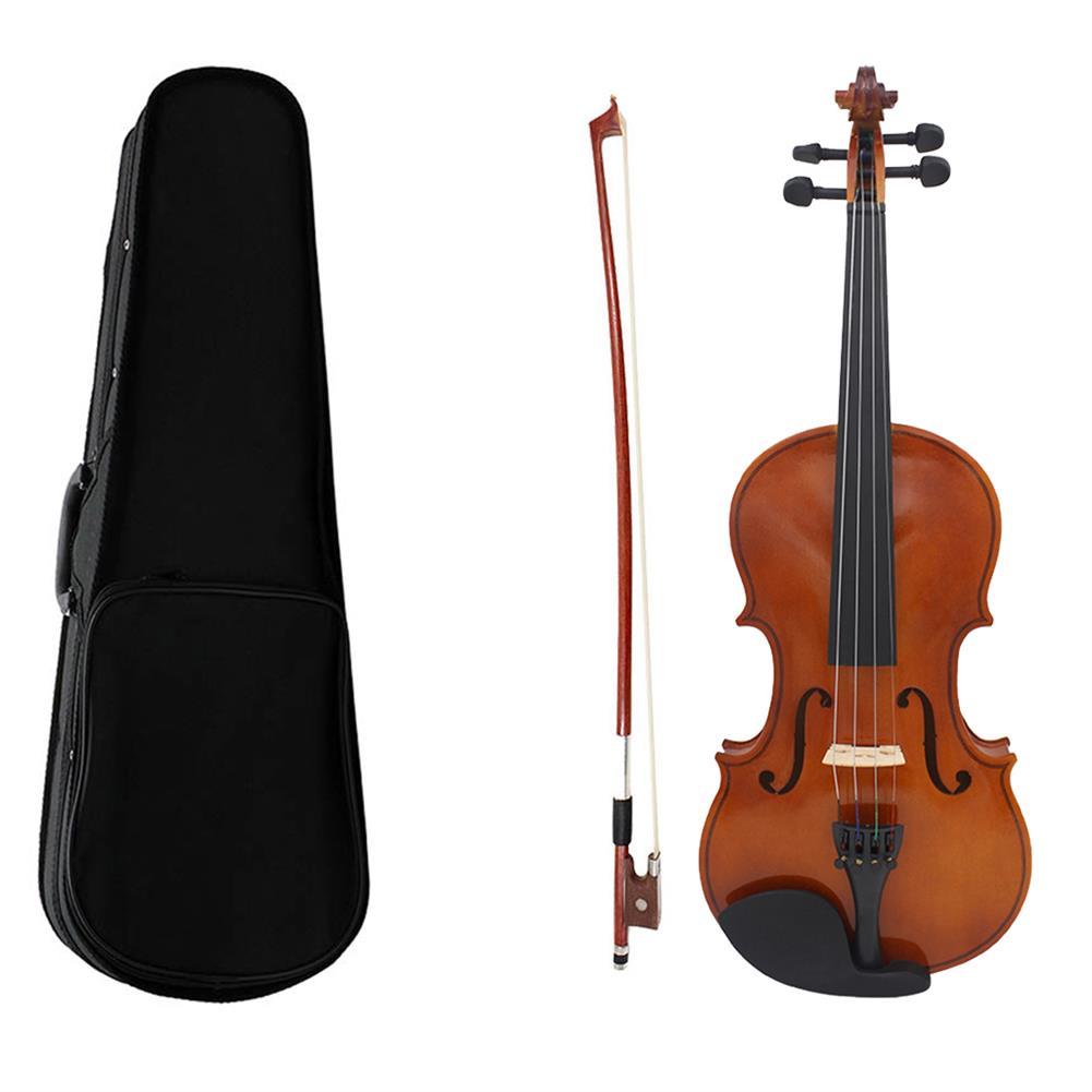 violin Multi-size Basswood Acoustic Violin with Case Bow for Violin Beginner HOB1719464