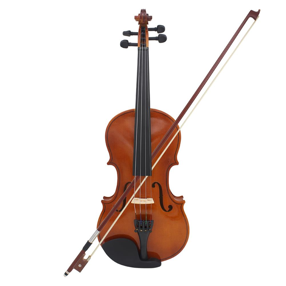 violin Multi-size Basswood Acoustic Violin with Case Bow for Violin Beginner HOB1719464 1