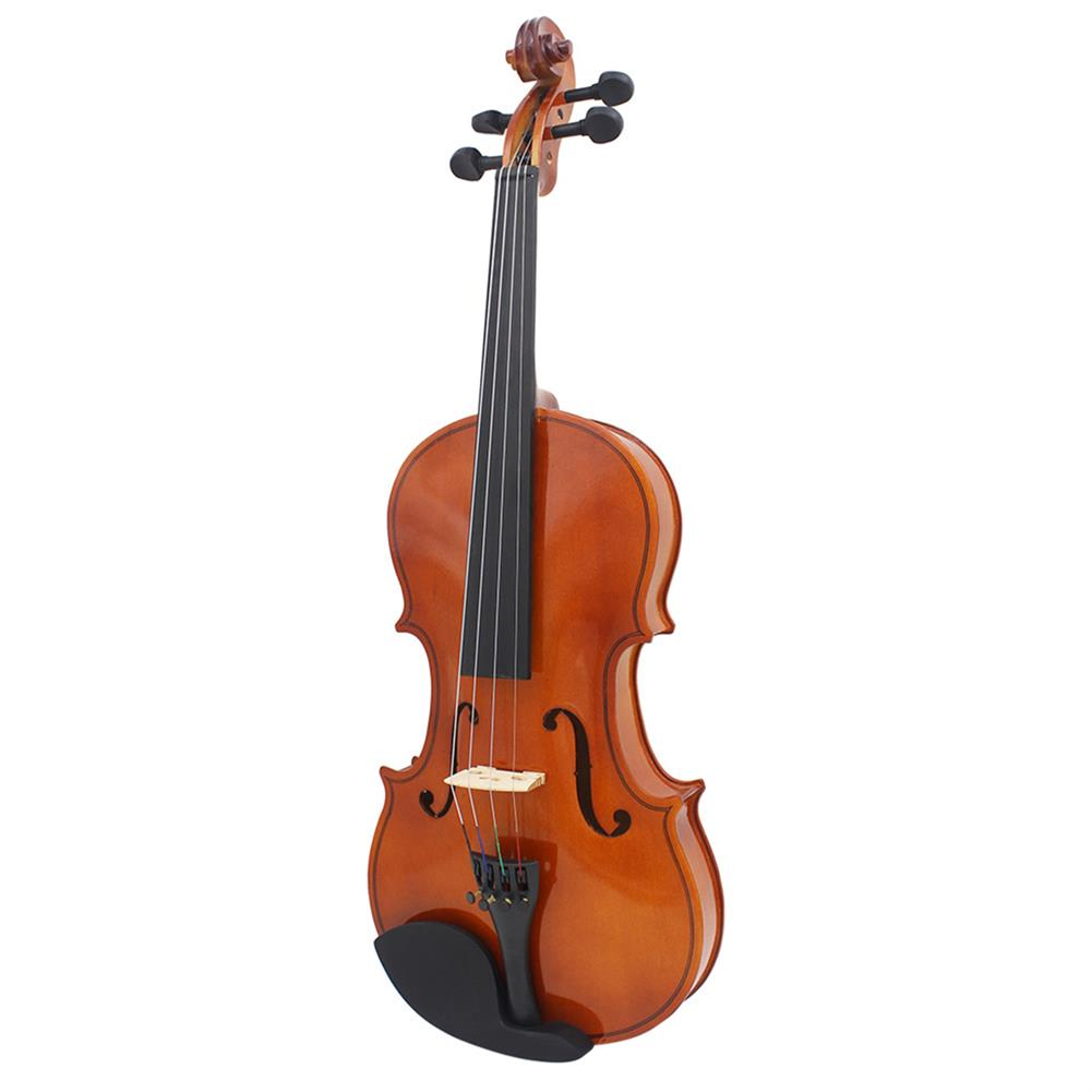 violin Multi-size Basswood Acoustic Violin with Case Bow for Violin Beginner HOB1719464 2