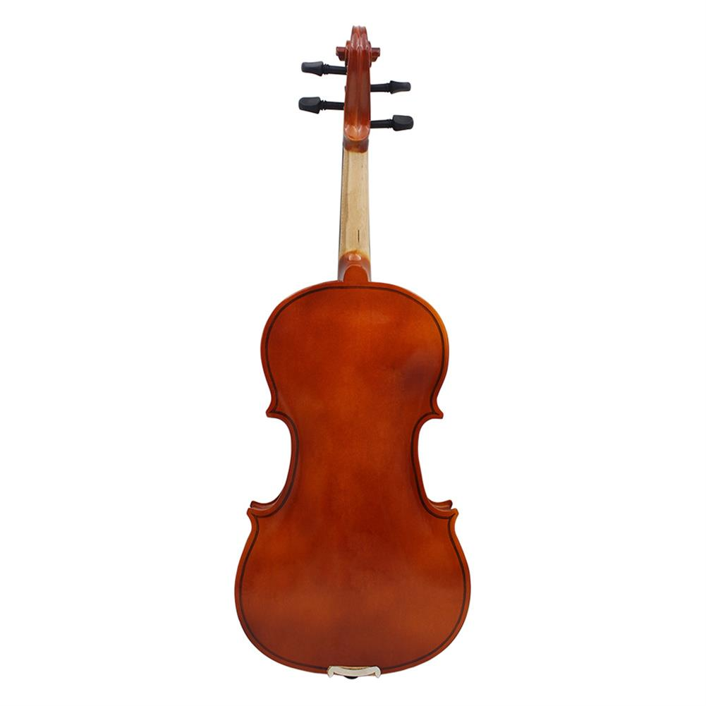 violin Multi-size Basswood Acoustic Violin with Case Bow for Violin Beginner HOB1719464 3