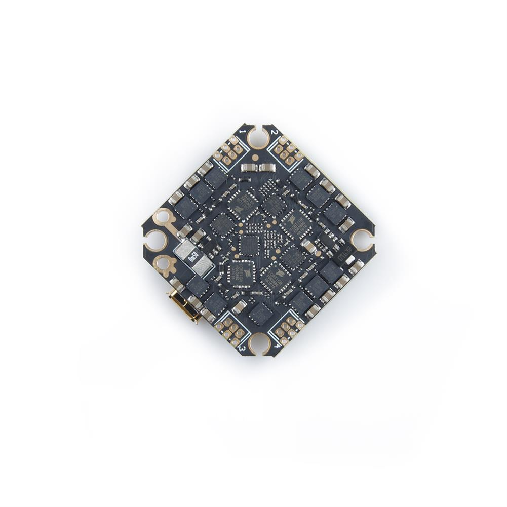 multi-rotor-parts 25.5x25.5mm GEELANG F411 F4 Flight Controller AIO OSD BEC Built-in 20A BLheli_S 4in1 Brushless ESC 2-4S Spport DJI Air Unit Caddx Vista for TITAN 120X FPV Racing Drone HOB1719823 1