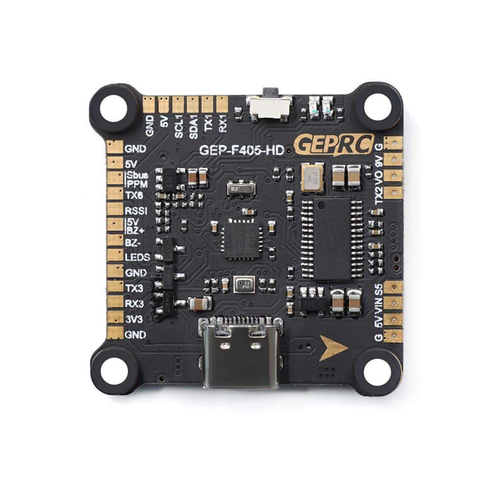 multi-rotor-parts 30.5x30.5mm Geprc Span F405 HD Stack F4 Flight Controller AIO OSD BEC & 50A BL_32 3-6S 4in1 ESC Built-in Current Sensor for DJI Air Unit RC Drone FPV Racing HOB1720017 2