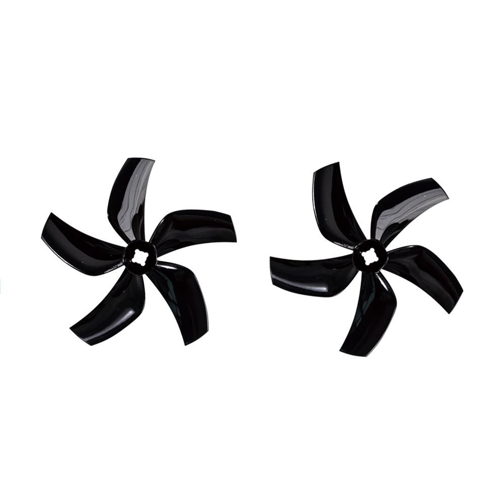 multi-rotor-parts 2 Pairs Gemfan D76 76mm 3 inch 5-Blade Ducted Propeller for CineWhoop RC Drone FPV Racing HOB1720565 2