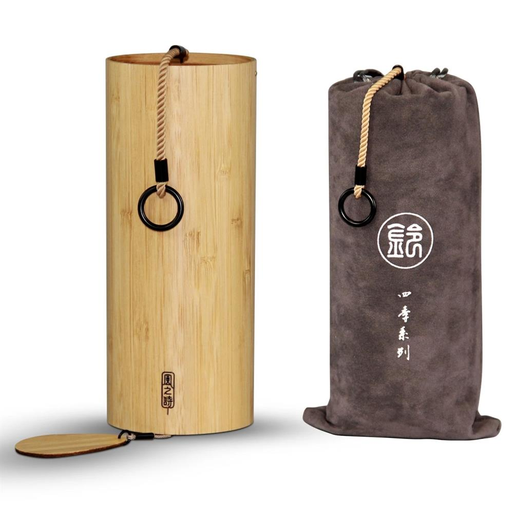 folk-world-percussion Bamboo Wind Chimes Windchime Windbell for Outdoor Garden Patio Home Decoration Meditation Relaxation HOB1720782 1