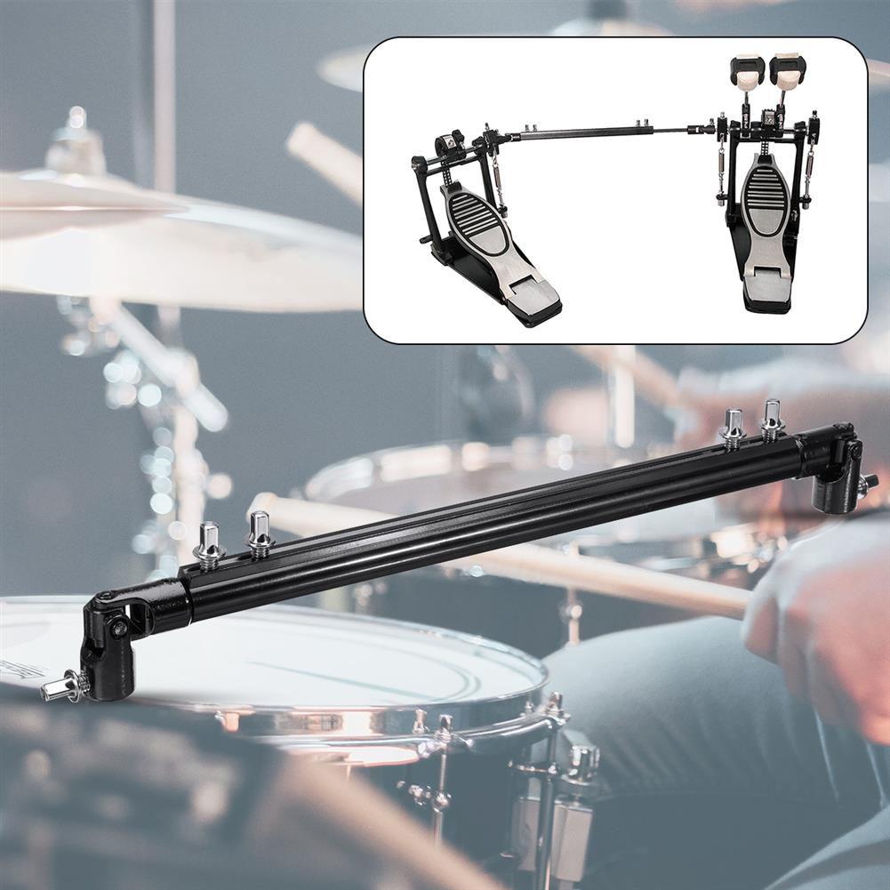 percussion-accessories 13.78 inch Double Bass Kick Drum Pedal Link Linkage Connecting Bar Driveshaft Rod HOB1721204 1