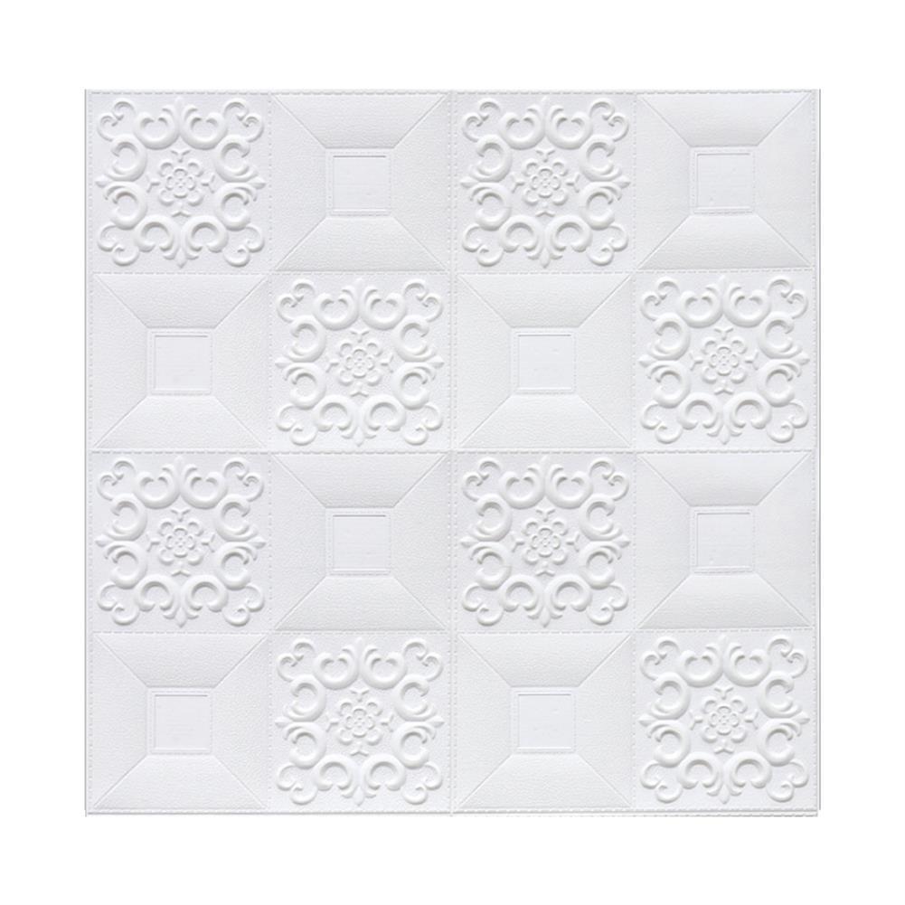 general-accessories 10PCS 3D Stereo Wall Self-Adhesive Ceiling Decorative Bricks HOB1721260 1