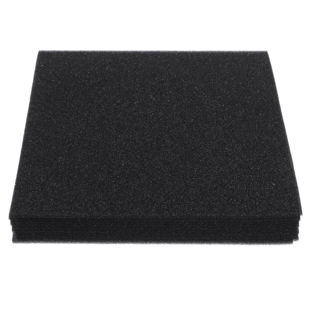 general-accessories 10PCS Acoustic Wall Panel Soundproof Foam Pads Car Studio insulation Treatment 20x20cm HOB1721635 1
