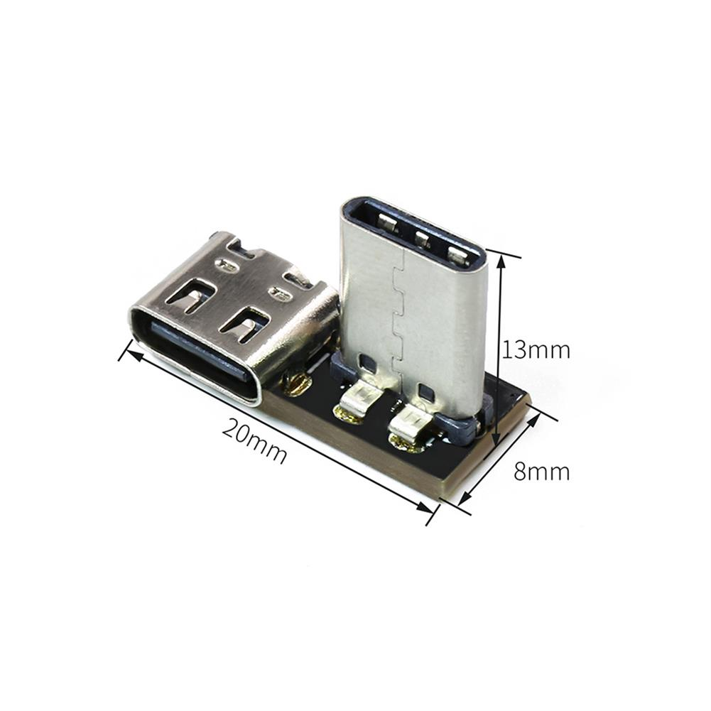 multi-rotor-parts GEPRC Type C 20*8*13mm 1.6g 90 Degrees USB Adapter Board for DJI FPV Air Unit RC Drone FPV Racing HOB1722007 3