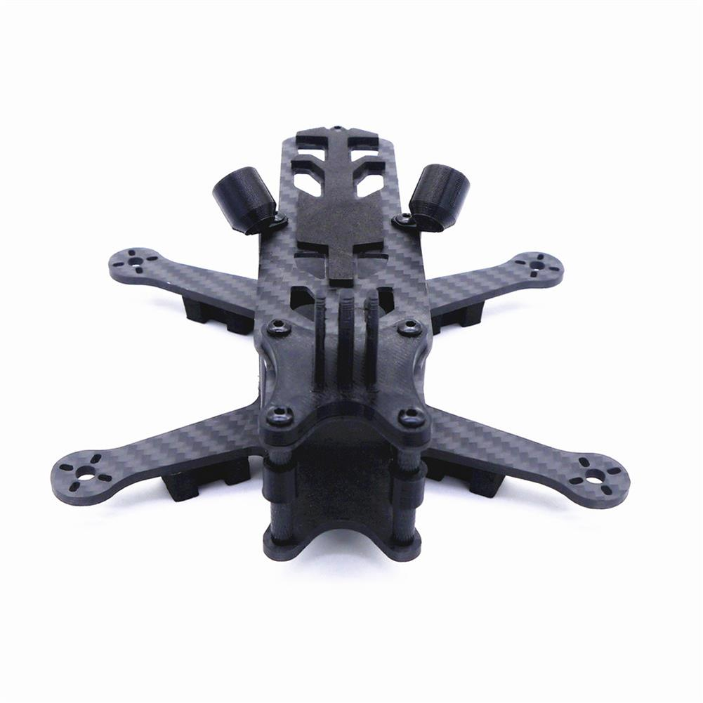 multi-rotor-parts Cpro 155mm 3inch HX Type FPV Tiny Frame Kit with 3mm Thickness Bottom Board Compatiabled with DJI Air Unit HOB1722518 1