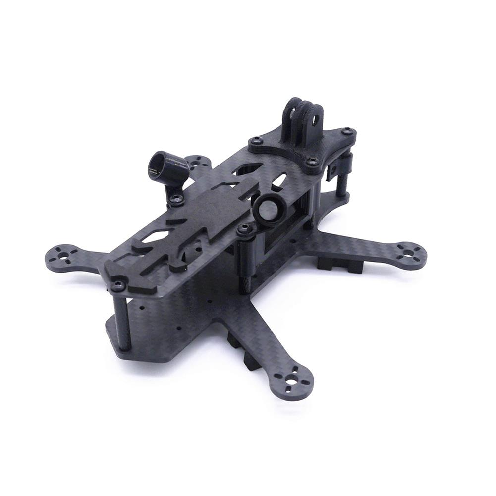 multi-rotor-parts Cpro 155mm 3inch HX Type FPV Tiny Frame Kit with 3mm Thickness Bottom Board Compatiabled with DJI Air Unit HOB1722518 3