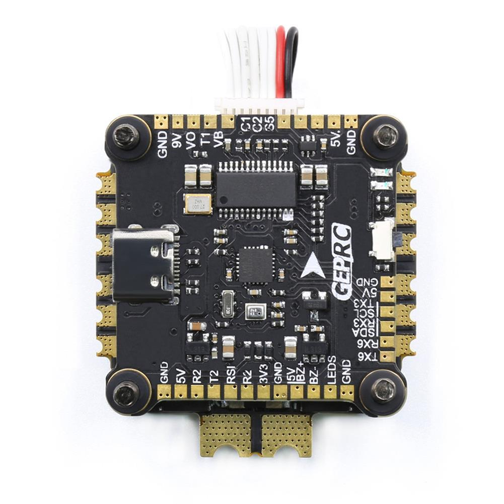 multi-rotor-parts 30.5x30.5mm GEPRC Span F722 HD Stack F7 OSD Flight Controller w/ 5V 9V BEC & 50A BLHeli_32 3-6S 4in1 Brushless ESC Support DJI Air Unit for RC Drone FPV Racing HOB1722541 3