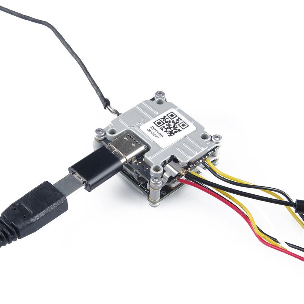 multi-rotor-parts GEELANG Micro USB to 19*10mm Black Type-C Plug for DJI FPV Air Unit RC FPV Racing Drone HOB1722609 2