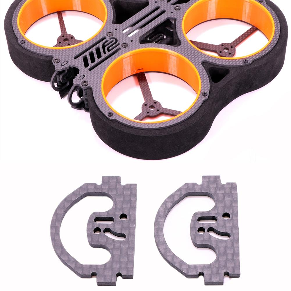 multi-rotor-parts 1 Pair AlfaRC F2 Cineboy Frame Parts Side Plate for Cinewhoop Whoop FPV Racing Drone HOB1722933 1