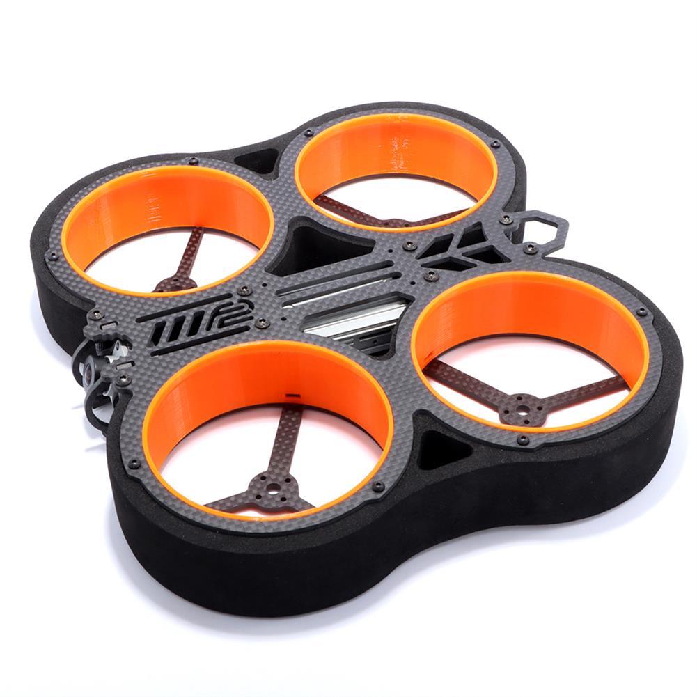 multi-rotor-parts 1 Pair AlfaRC F2 Cineboy Frame Parts Black Sponge Duct for Cinewhoop Whoop FPV Racing Drone HOB1722939 1