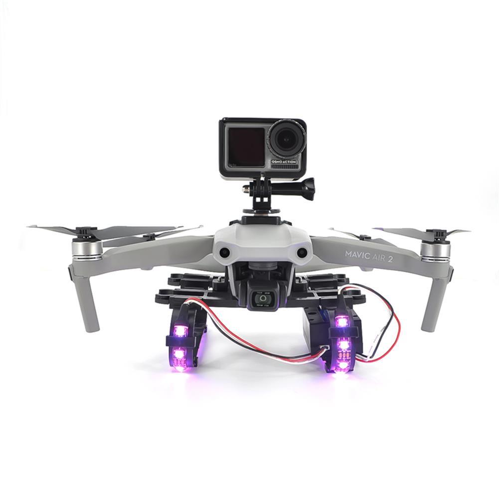rc-quadcopter-parts STARTRC Shock-absorbing Led landing Gear for DJI Mavic Air 2 RC Quadcopter HOB1725085 1