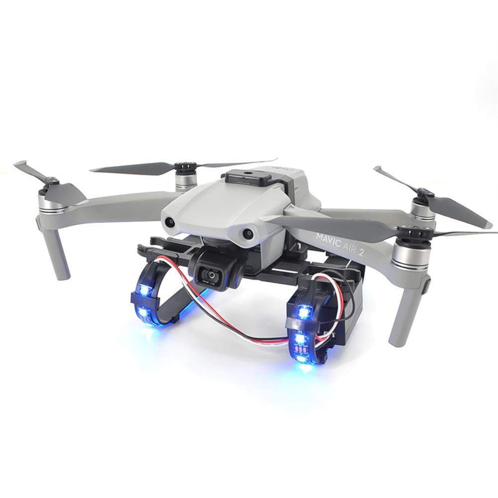 rc-quadcopter-parts STARTRC Shock-absorbing Led landing Gear for DJI Mavic Air 2 RC Quadcopter HOB1725085 2