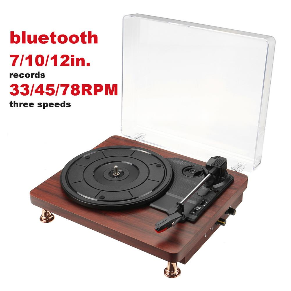speakers-subwoofers INSMA Turntable Record Player Audio bluetooth Speaker 3 Speeds Play 33/45/78RPM HOB1726201