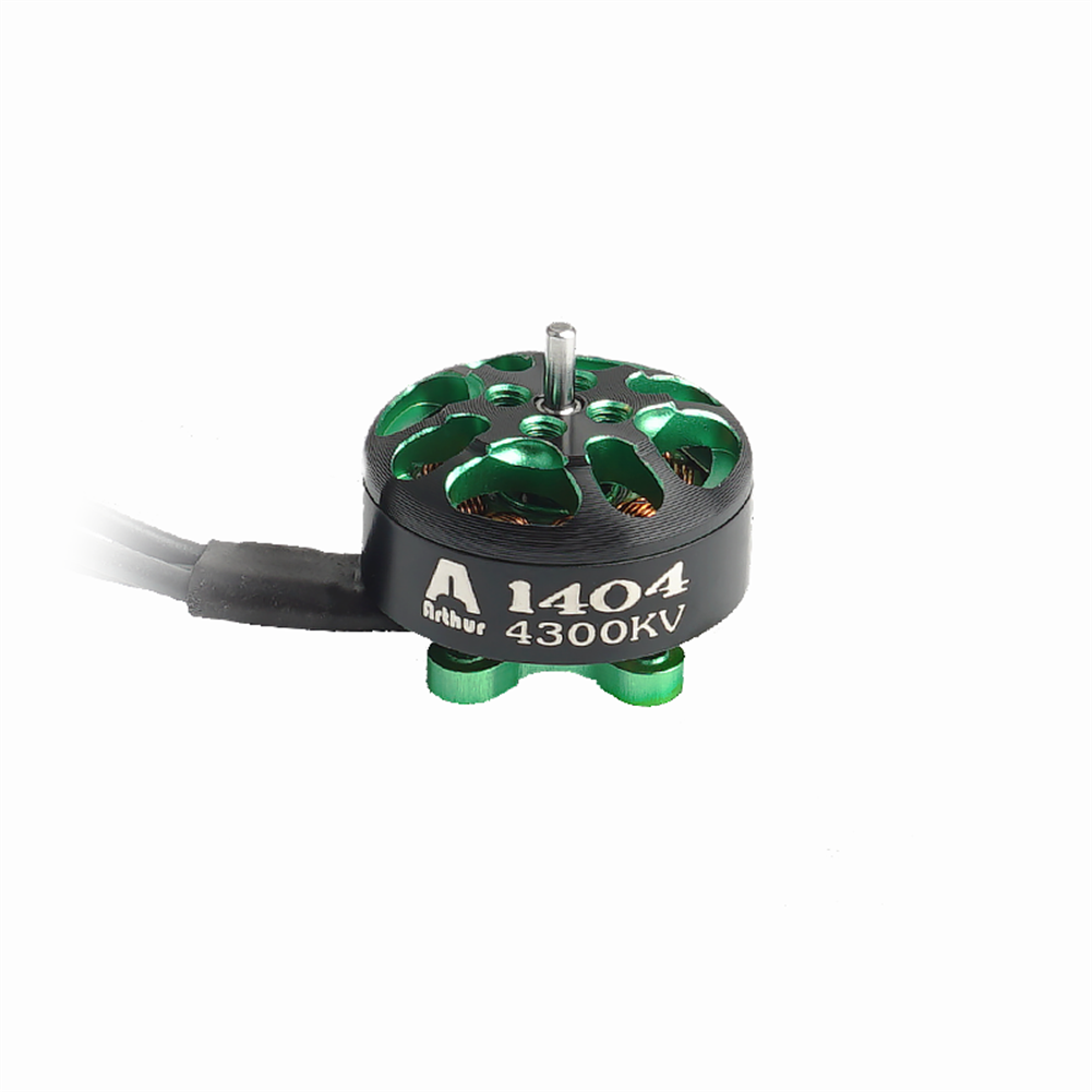 multi-rotor-parts Flashhobby Arthur Series A1404 1404 4300KV 2-4S Brushless Motor 1.5mm Shaft for 3-4 inch RC Drone FPV Racing HOB1727548 1