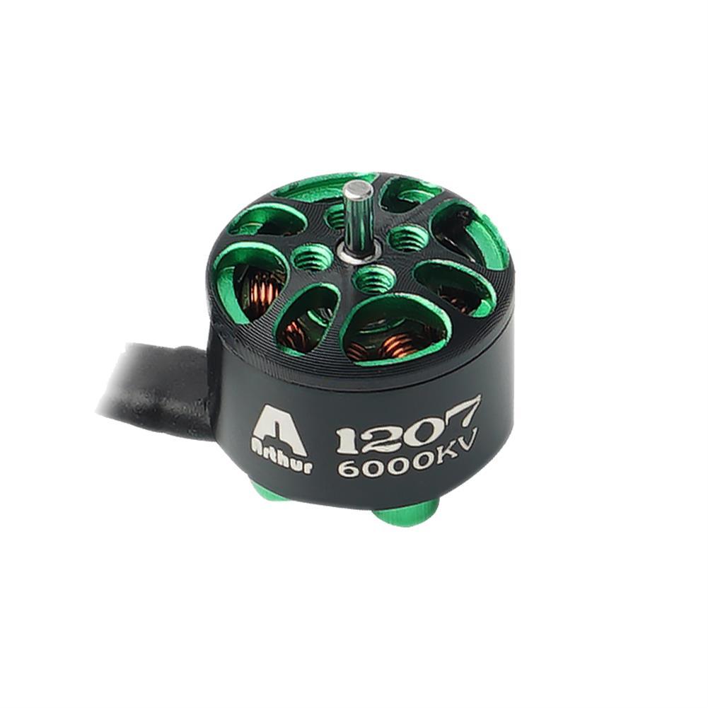 multi-rotor-parts Flashhobby Arthur A1207 1207 5200KV 6000KV 3-4S / 7000KV 2-3S Brushless Motor 1.5mm Shaft for 2-3 inch RC Drone FPV Racing HOB1727567