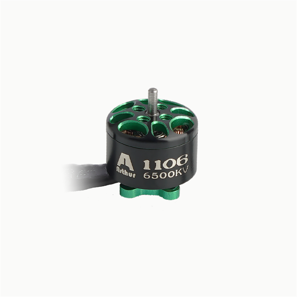 multi-rotor-parts Flashhobby Arthur Series A1106 1106 6500KV 2-3S Brushless Motor 1.5mm Shaft for 2-3 inch RC Drone FPV Racing HOB1727714