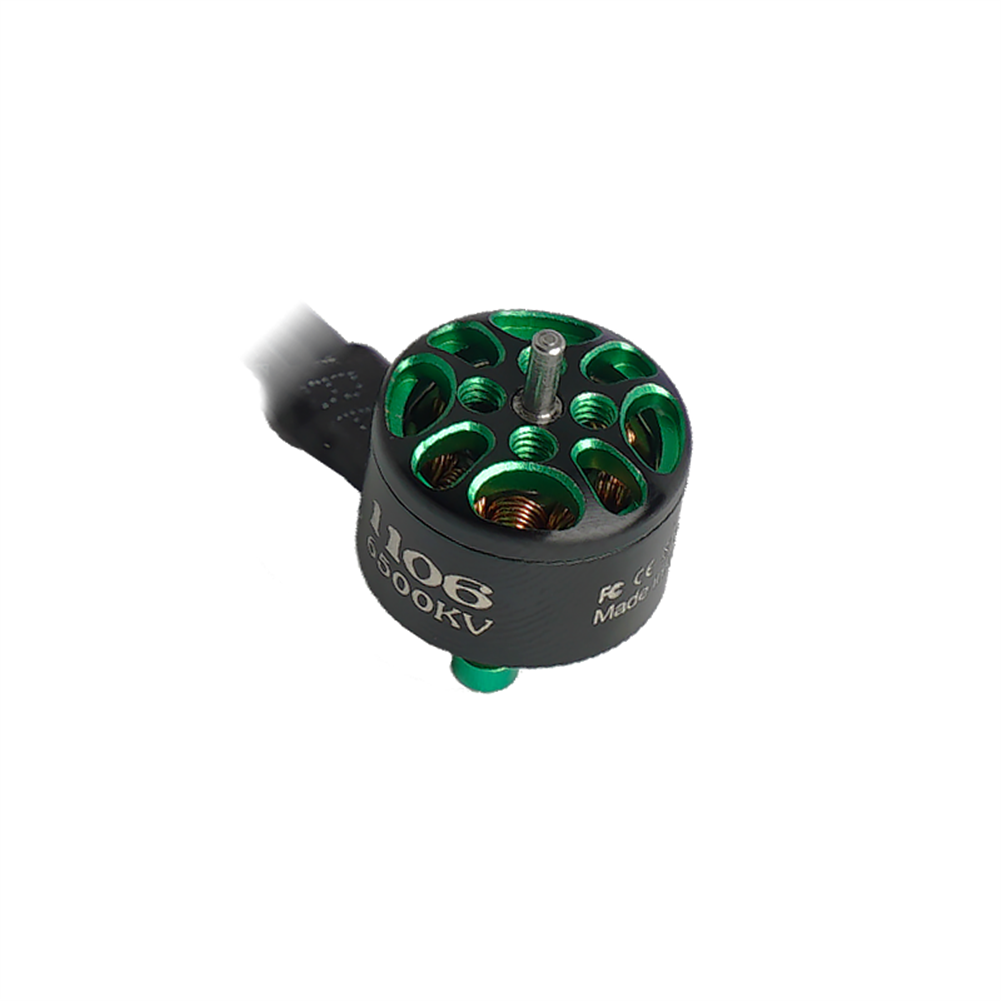 multi-rotor-parts Flashhobby Arthur Series A1106 1106 6500KV 2-3S Brushless Motor 1.5mm Shaft for 2-3 inch RC Drone FPV Racing HOB1727714 1