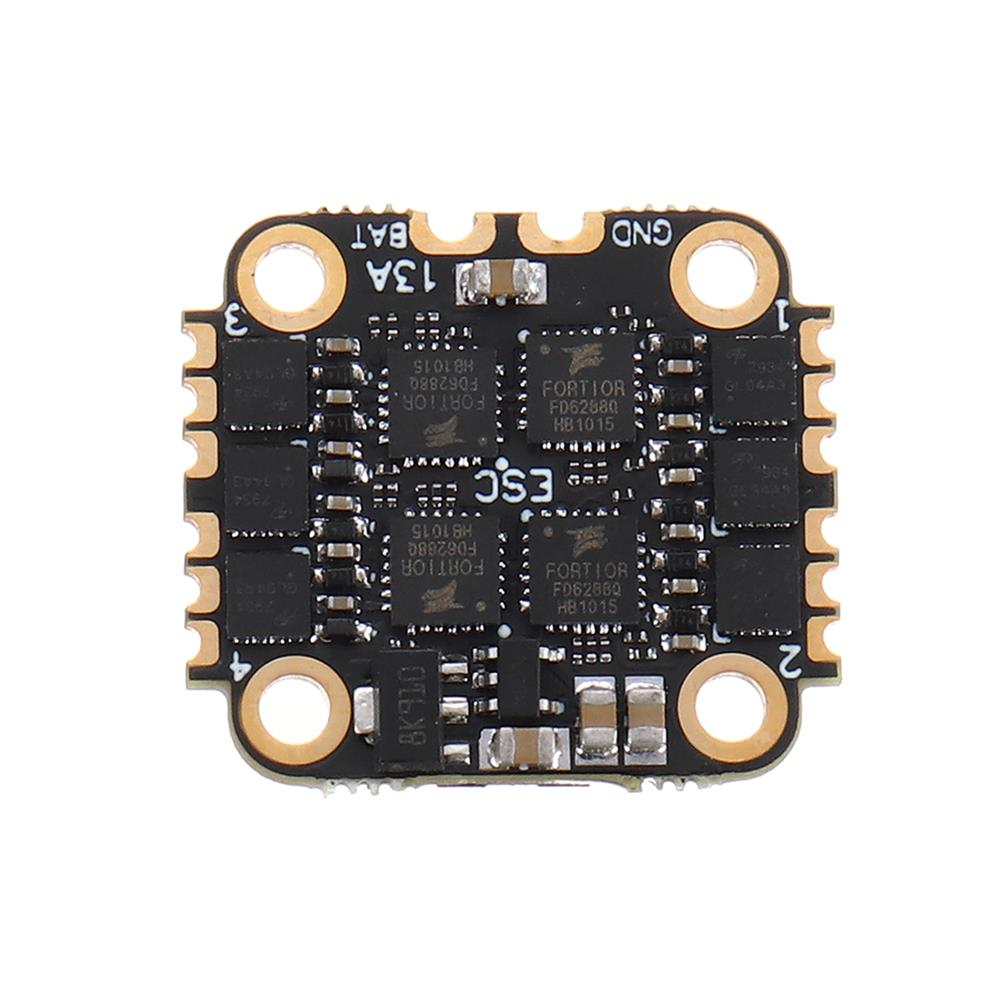 multi-rotor-parts 16x16mm GEELANG SIF4 V1 F4 OSD Flight Controller & 13A BLheli_S 2-4S 4in1 Brushless ESC Stack for Anger 75X 85X RC Drone FPV Racing HOB1729095 3