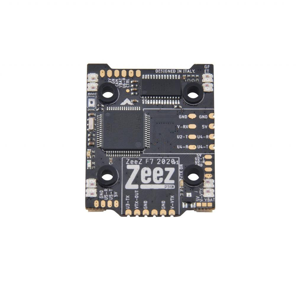 multi-rotor-parts 20*20mm Zeez F7 2020 FC MPU6000 5V/3A BEC 6UARTS OSD 3-8S Flight Controller with Type-C RGB 128MB 8S input for FPV Racing RC Drone HOB1729604