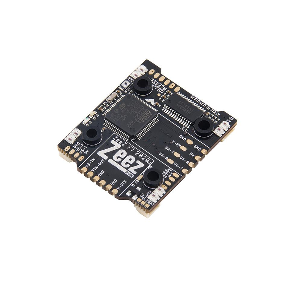 multi-rotor-parts 20*20mm Zeez F7 2020 FC MPU6000 5V/3A BEC 6UARTS OSD 3-8S Flight Controller with Type-C RGB 128MB 8S input for FPV Racing RC Drone HOB1729604 2