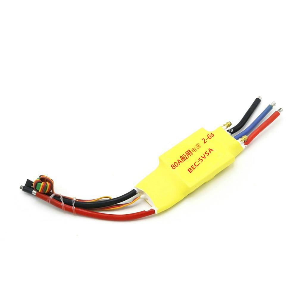 rc-boat-parts Brushless ESC 30A 50A 80A 100A 200A 2-3S 5V 3A Double Side Water Cooled ESC RC Boat Parts HOB1730078