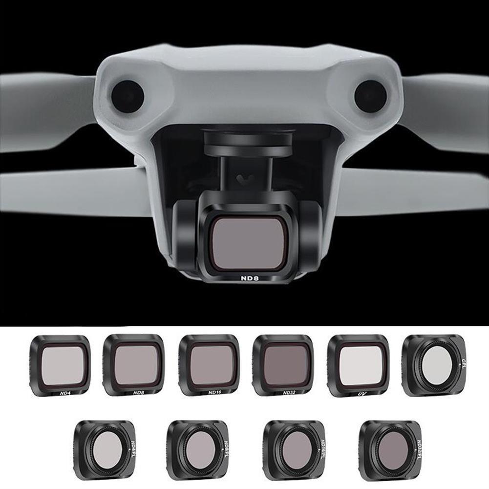 rc-quadcopter-parts STARTRC Camera Lens Filter Combo Waterproof Adjustable UV+CPL+ND4/8/16/32 NDPL Set for DJI Mavic Air 2 Drone HOB1730998