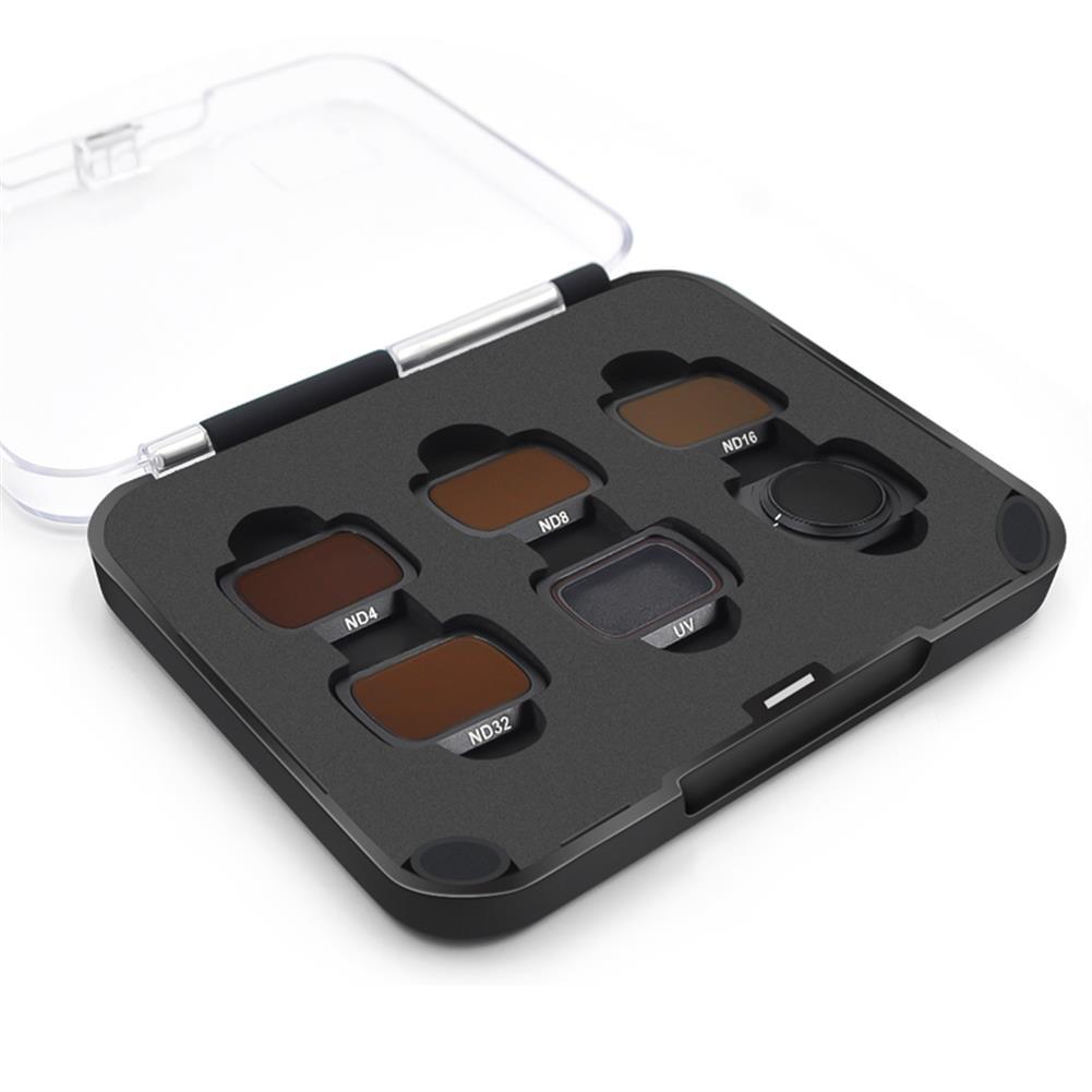 rc-quadcopter-parts STARTRC Camera Lens Filter Combo Waterproof Adjustable UV+CPL+ND4/8/16/32 NDPL Set for DJI Mavic Air 2 Drone HOB1730998 2