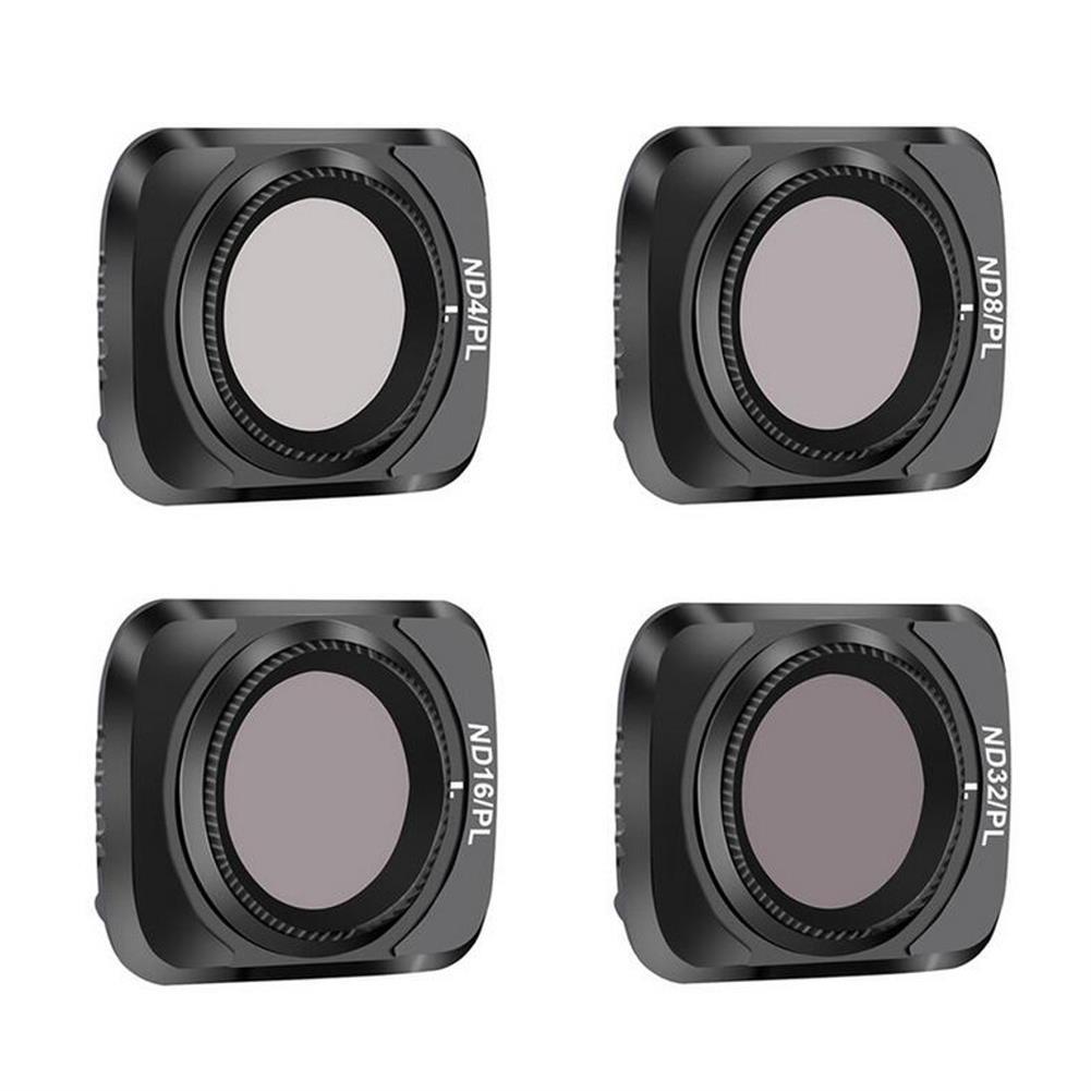 rc-quadcopter-parts STARTRC Camera Lens Filter Combo Waterproof Adjustable UV+CPL+ND4/8/16/32 NDPL Set for DJI Mavic Air 2 Drone HOB1730998 3