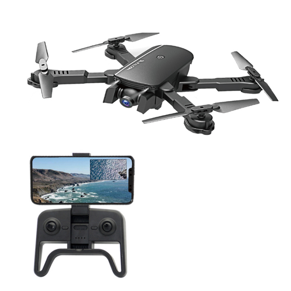 rc-quadcopters 1808 WIFI with 4K HD Camera Air Pressure Altitude Hold Optical Flow Positioning Foldable RC Drone Quadcopter HOB1731413
