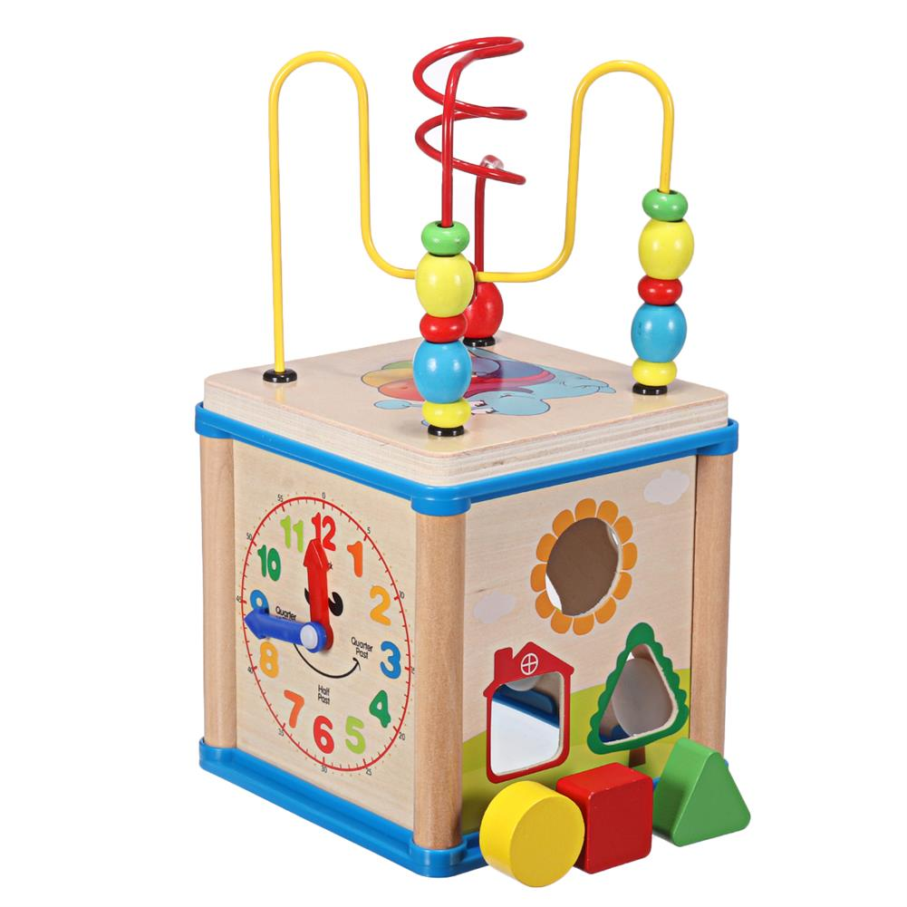 puzzle-game-toys Wooden Multi-functional Wisdom Aroind Treasure Box with Beads Parent-child Educational Learning Toy for Kids Gift HOB1733559 1