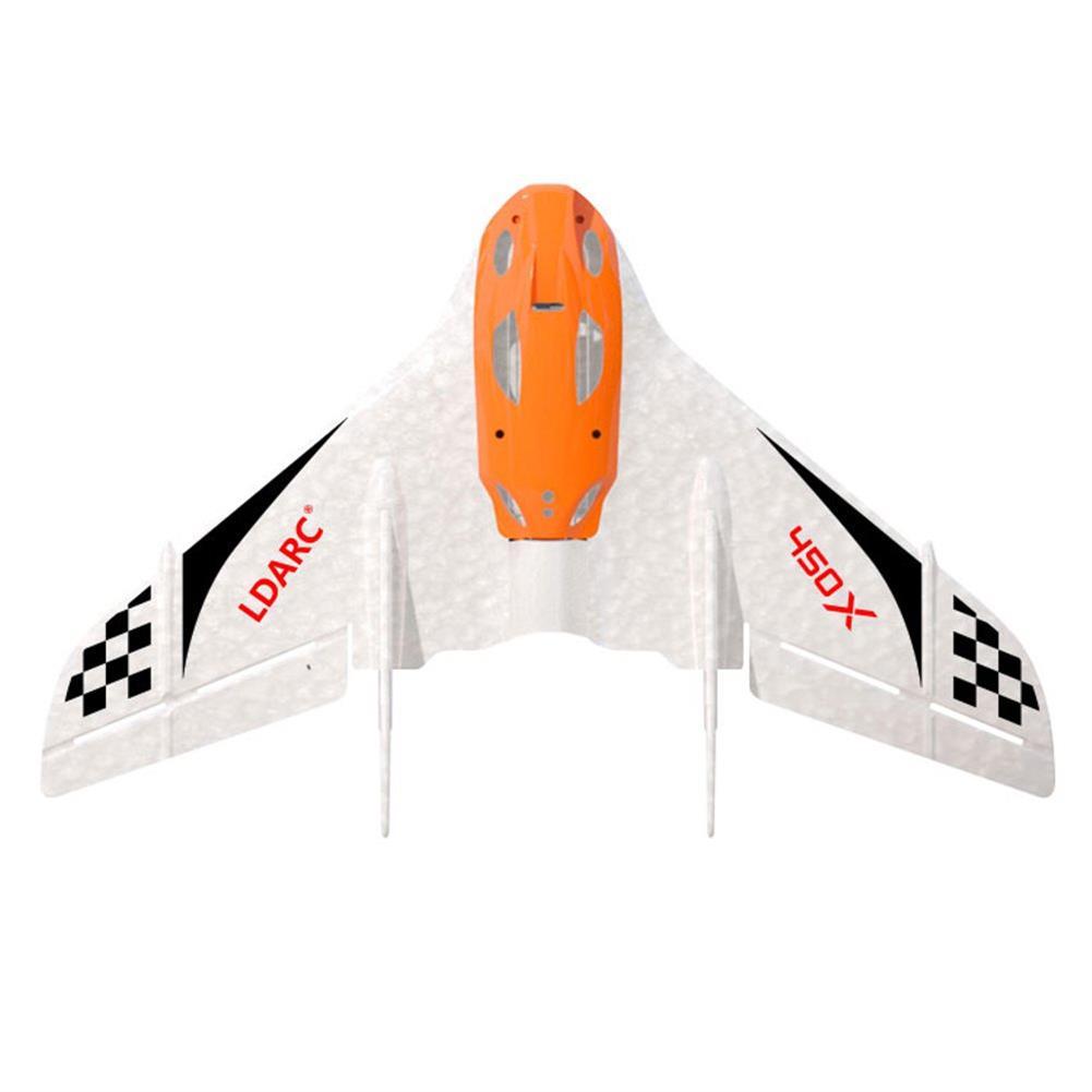 rc-airplane 2PCS KINGKONG/LDARC TINY WING 450X V2 431mm Wingspan EPP FPV RC Airplane Flying Wing KIT HOB1736011