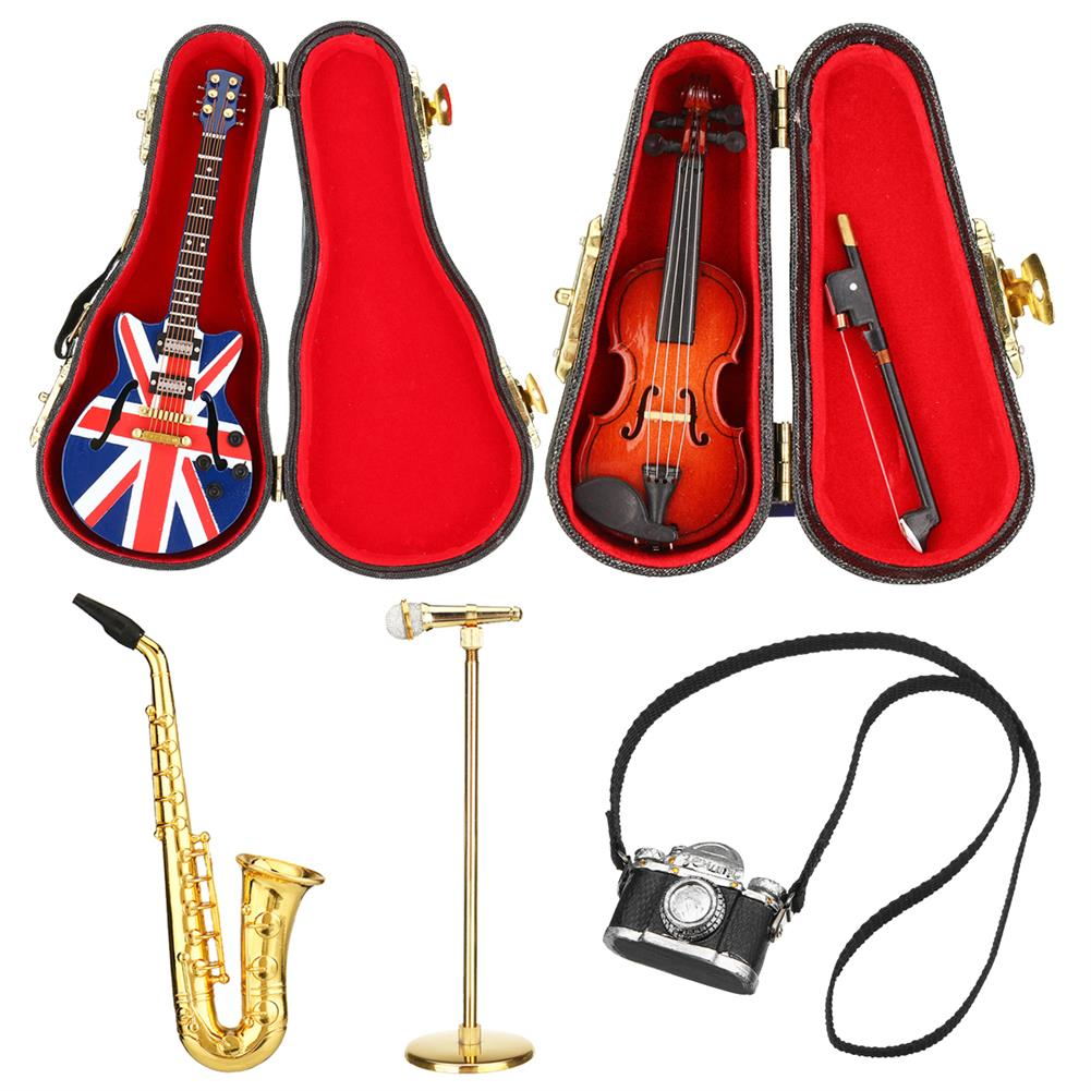 orff-instruments Mini Newborn infant Baby Photography Props Saxophone Microphone Props instruments Baby Photo Props HOB1736121