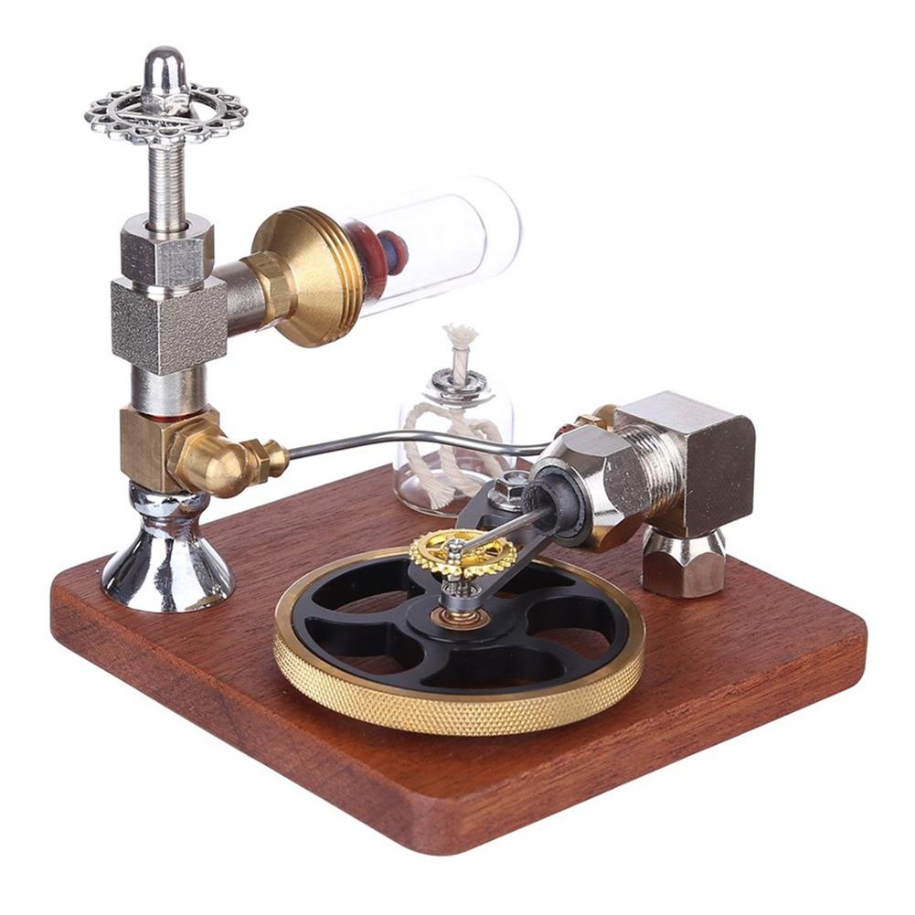 science-discovery-toys Stirling Engine Model Free Piston Adjustable Speed External Combustion Engine with Horizontal Flywheel Physics Science Toy HOB1736594 1
