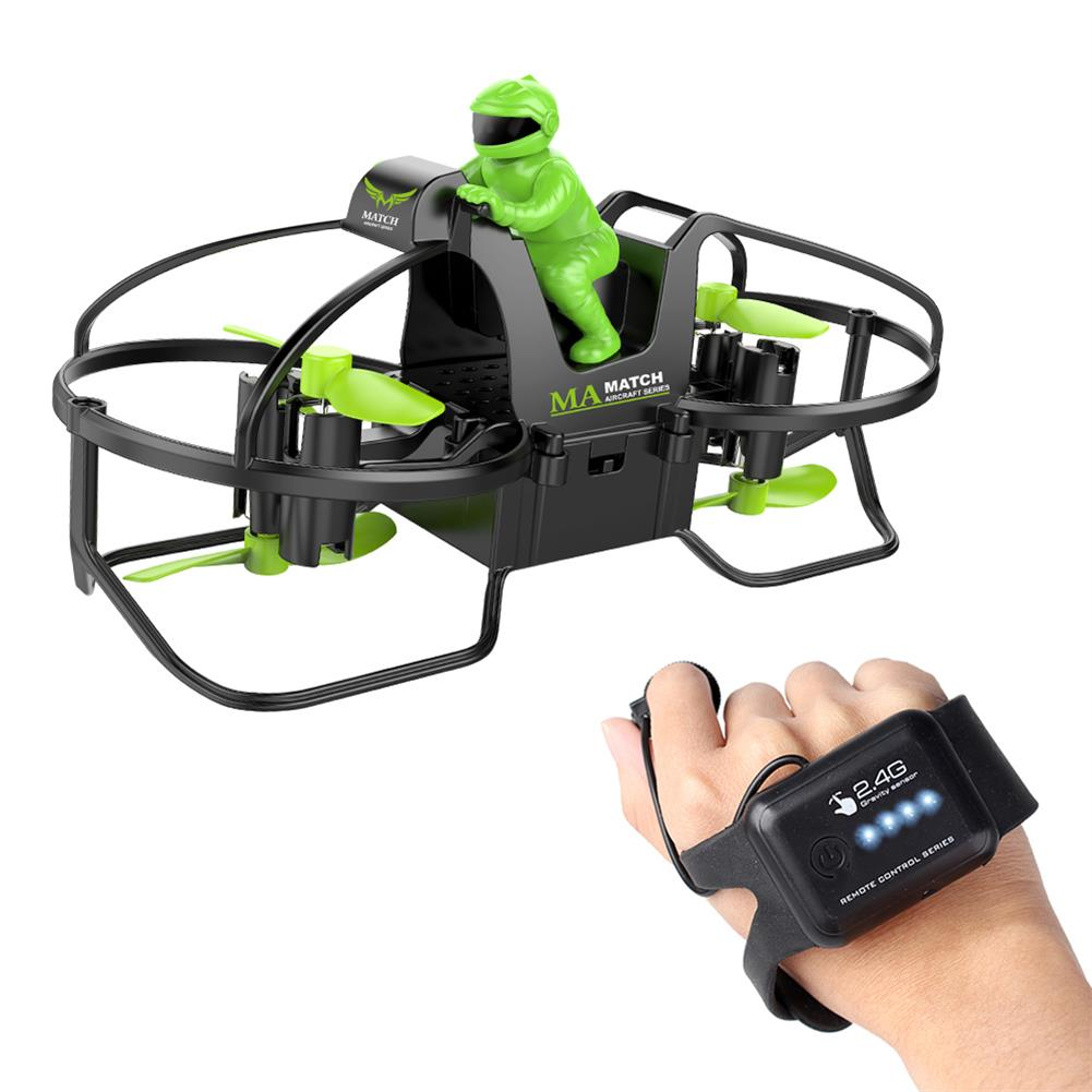 rc-quadcopters 2.4GHz 6-Axis Gravity Sensor Motorcycle Watch Control Smart Gesture Sensing Headless Mode RC Quadcopter HOB1737383