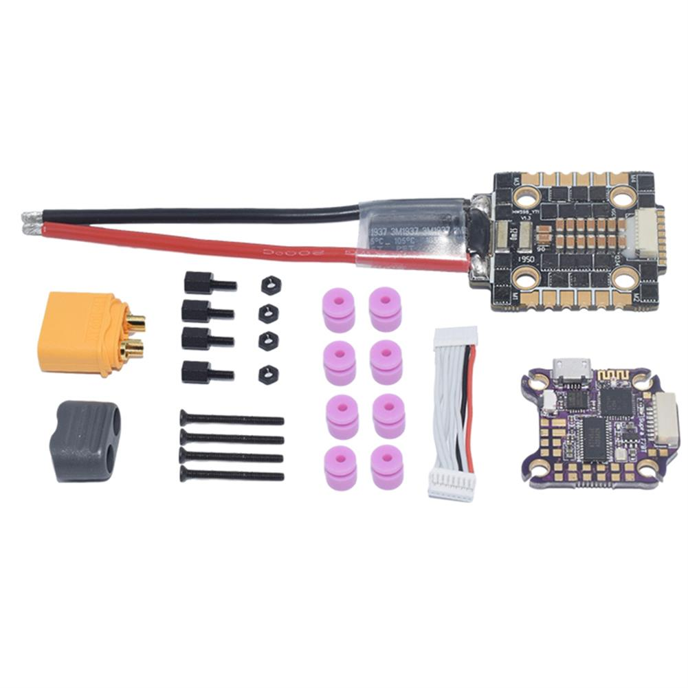 multi-rotor-parts 20x20mm AuroraRC SupraF7BT F7 Bluetooth Flight Controller w/ 5V 9V BEC & 40A BL_32 3-6S 4 in1 Brushless ESC Stack Support DJI Air Unit for RC Drone FPV Racing HOB1737749
