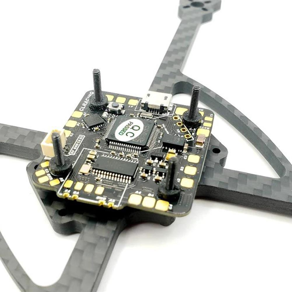 multi-rotor-parts 25.5x25.5mm CLRZCING AIO F7 2-6S Flight Controller OSD 20A Blheli_32 Brushless ESC for Toothpick / Whoop FPV Racing Drone HOB1737760 2