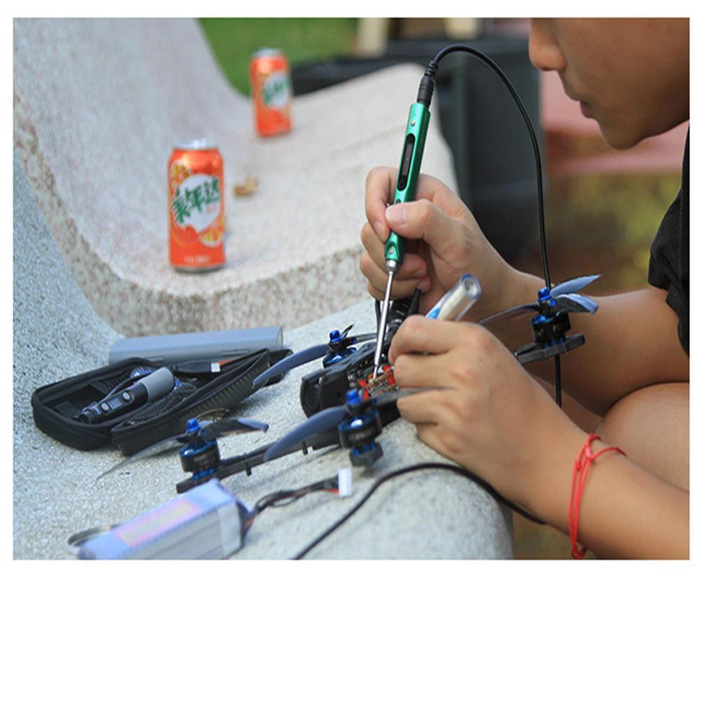 rc-car-parts SQ EAI01 Electric Soldering Iron Mini Smart Portable 65W for RC Vehicles Model FPV Drone HOB1737963 2