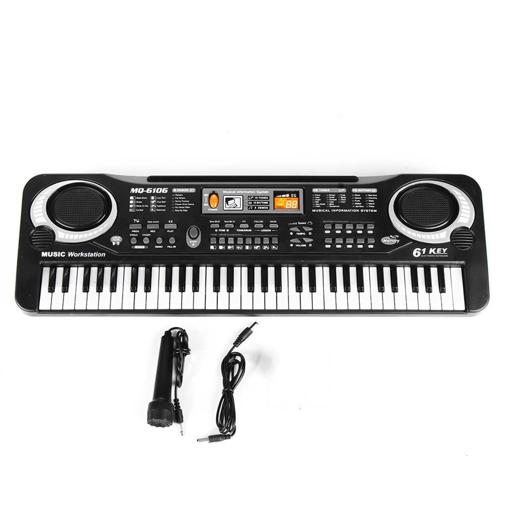 electronic-keyboards 61 Keys Kids Electronic Music Keyboard Electric Digital Piano Organ Toy + Mic HOB1738440