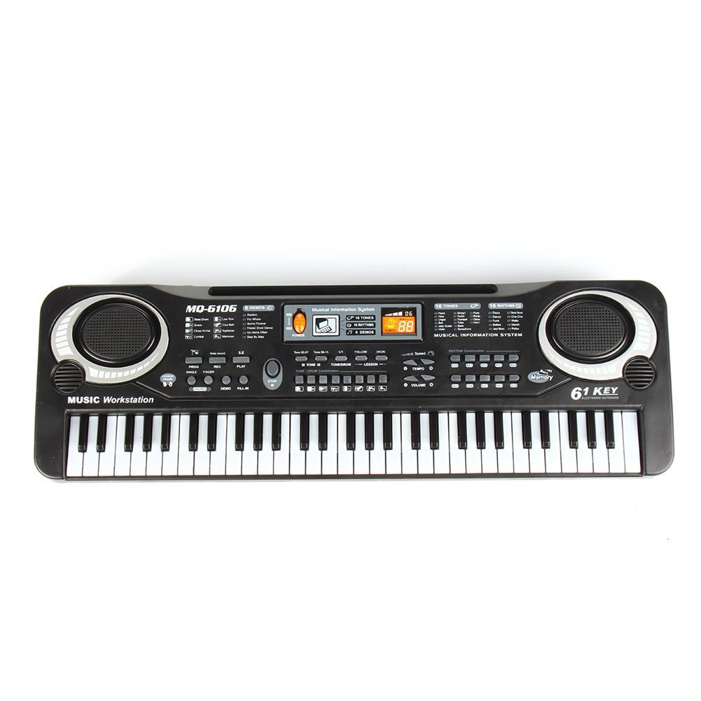 electronic-keyboards 61 Keys Kids Electronic Music Keyboard Electric Digital Piano Organ Toy + Mic HOB1738440 1